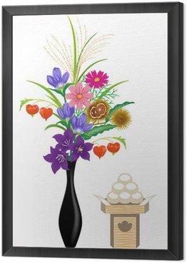Obraz w Ramie Jugoya Ikebana / oferty białym tyłem