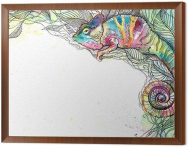 Obraz w Ramie Kameleon