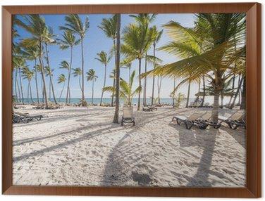 Obraz w Ramie Karaiby plaży