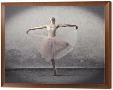 Obraz w Ramie Klasyczne baleriny