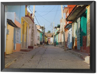 Obraz w Ramie Kolory Trynidad