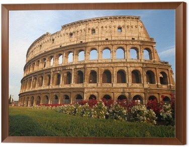 Obraz w Ramie Koloseum w Rzymie, Włochy