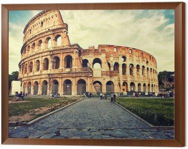 Obraz w Ramie Koloseum