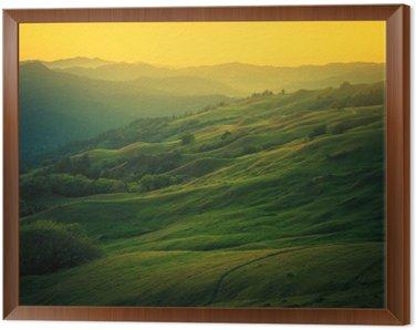 Obraz w Ramie Krajobraz północnej Kalifornii