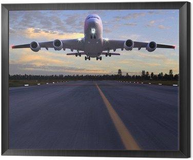 Lądowanie samolotu 3D ilustracji