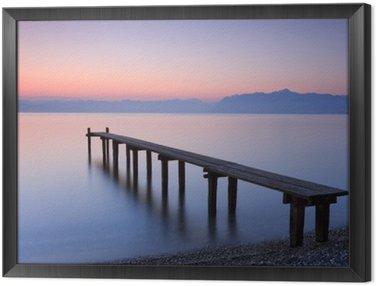 Obraz w Ramie Lake Geneva, Switzerland