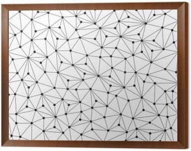 Łamana w tle, bez szwu wzór, linie i okręgi