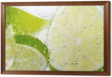 Obraz w Ramie Limonki i cytryny
