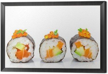 Obraz w Ramie Maki sushi