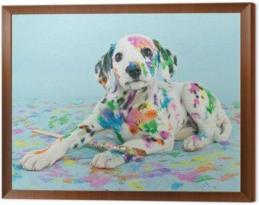 Obraz w Ramie Malowane Puppy