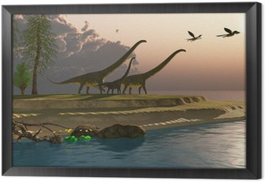 Mamenchizaur Dinosaur Morning