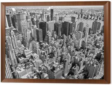 Obraz w Ramie Manhattan, Nowy Jork. USA.