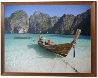 Obraz w Ramie Maya Bay, Ko Phi Phi Ley, Tajlandia.