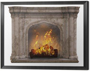 Obraz w Ramie Miejsce na ognisko