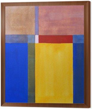 Obraz w Ramie Minimalistyczny malarstwo abstrakcyjne