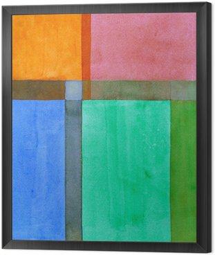 Minimalistyczny malarstwo abstrakcyjne