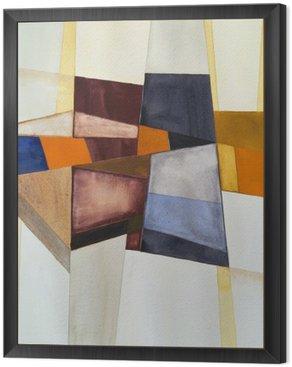 Obraz w Ramie Modernistyczny abstrakcyjna akwarela