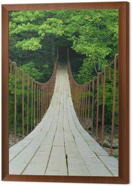 Obraz w Ramie Most wiszący