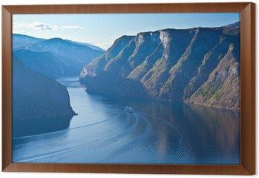Obraz w Ramie Norwegia - region Fjord