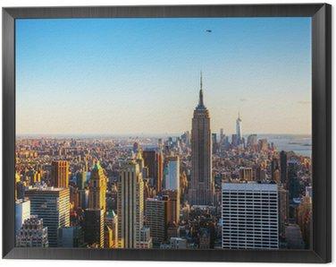 Obraz w Ramie Nowy Jork pejzaż