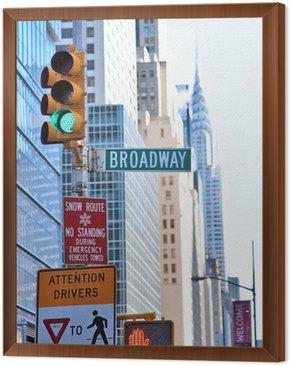 Obraz w Ramie Nowy Jork