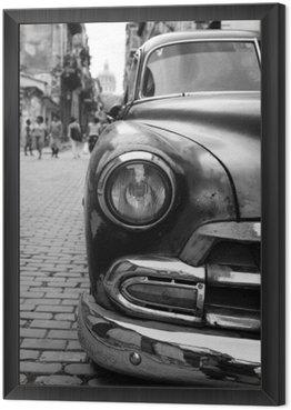 Obraz w Ramie Oldtimer na Kubie