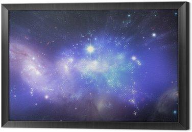 Obraz w Ramie Piękne tła wszechświat