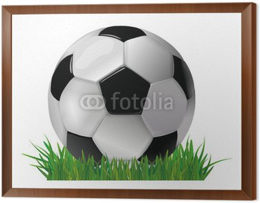 Obraz w Ramie Piłka nożna