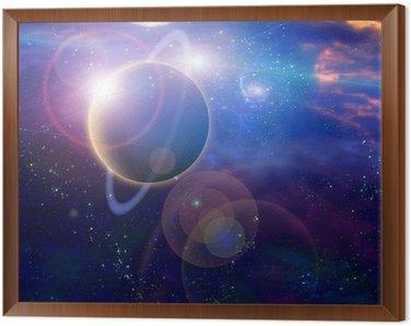 Obraz w Ramie Planet i kosmos