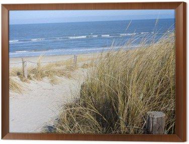 Obraz w Ramie Plaża Morze Północne