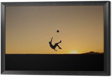 Obraz w Ramie Podczas gry w piłkę