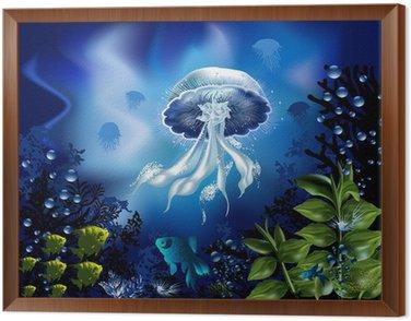 Obraz w Ramie Podwodny świat