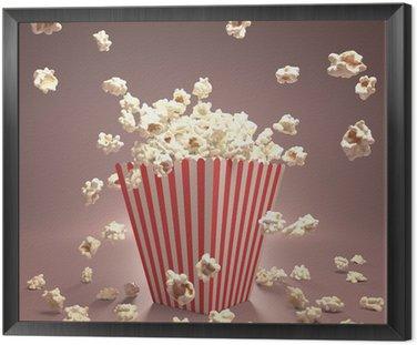 Obraz w Ramie Popcorn Latanie