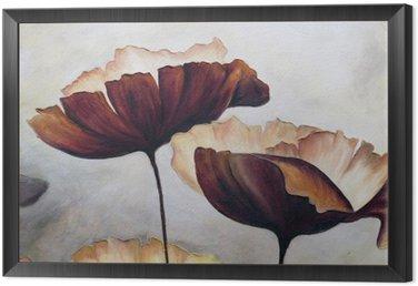 Obraz w Ramie Poppy malarstwo abstrakcyjne