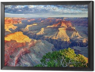 Obraz w Ramie Rana w Grand Canyon