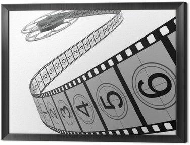 Obraz w Ramie Reel Film - Filmstrip
