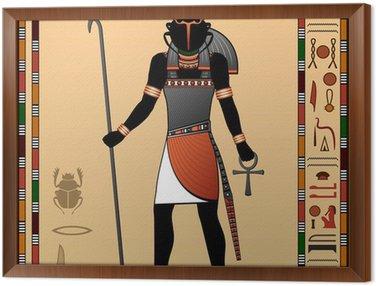 Obraz w Ramie Religia starożytnego Egiptu.
