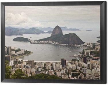 Obraz w Ramie Rio de Janeiro - Panorama