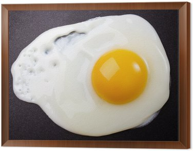 Obraz w Ramie Smażone jajko