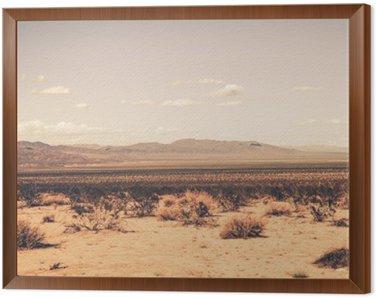 Obraz w Ramie Southern California Desert