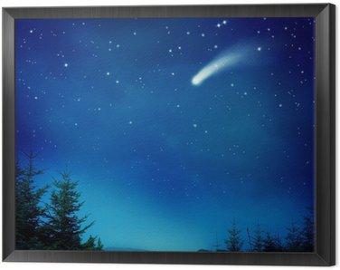 Obraz w Ramie Spadająca gwiazda