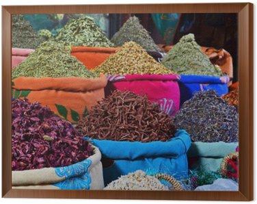 Obraz w Ramie Spezie Marocchine