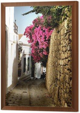 Obraz w Ramie Średniowieczna ulica