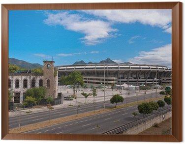 Obraz w Ramie Stadion Maracana w Rio de Janeiro, Brazylia