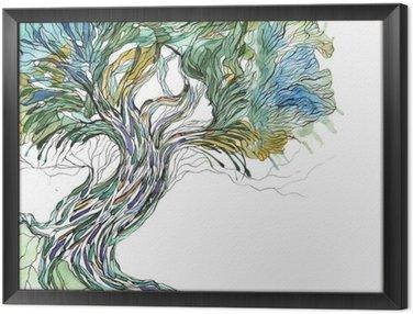 Obraz w Ramie Stare drzewo
