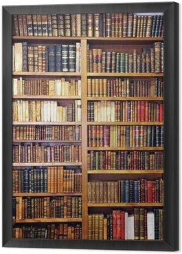 Obraz w Ramie Stare książki, biblioteki