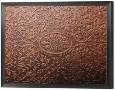 Obraz w Ramie Stare tekstury okładka książki