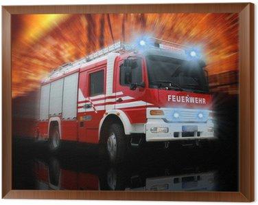 Obraz w Ramie Straż Pożarna