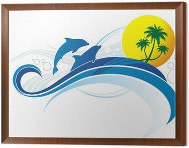 Obraz w Ramie Style morze