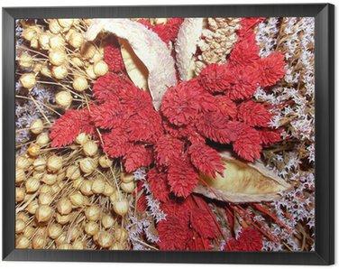 Obraz w Ramie Suche ikebana